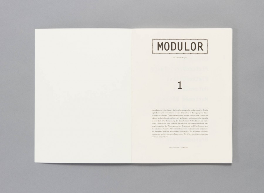 Sarah Behrends: Modulor