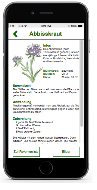 It has important infos about Herbs