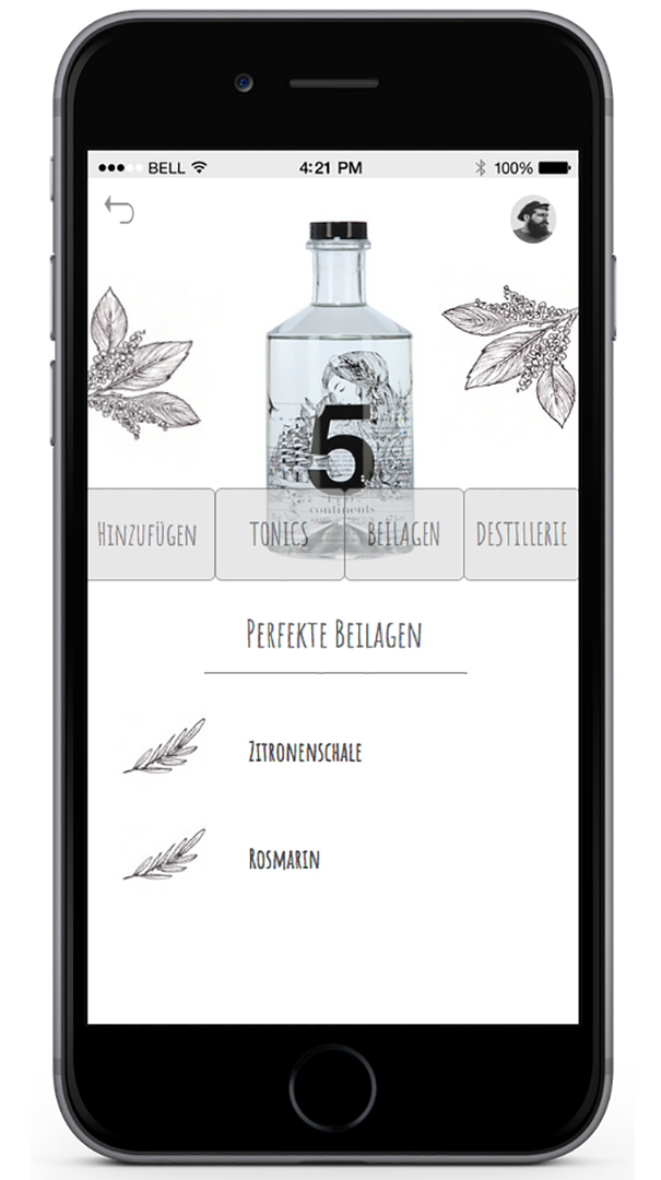 Localgin screenshot. 4 png